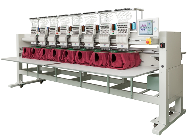 Vyšívací stroj TAJIMA modelové řady TMAR-KC